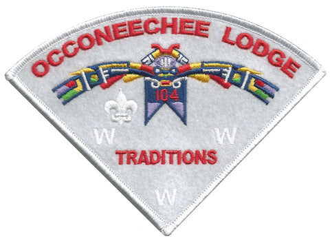 "Lodge 104 ""Traditions"" Pie Patch"