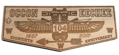 80th Anniversary Wooden Flaps