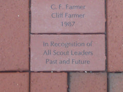 Red 4x8 Brick for Charley Sullivan Walkway