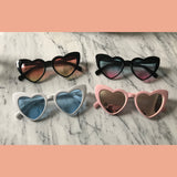 Lolita Oversized Adore Pointy Heart Sunglasses