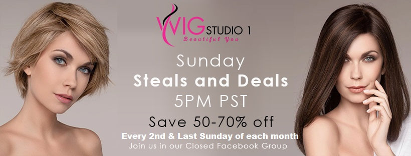 WIG STUDIO 1 SUNDAY STEALS AND DEALS