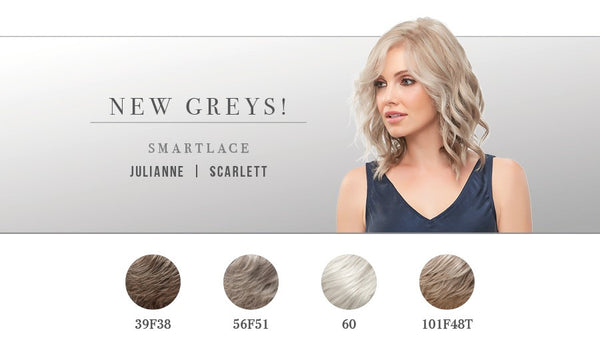 New Grey Wig Styles by Jon Renau