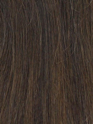 02-4 | Darkest Brown w/ Dark Brown Roots
