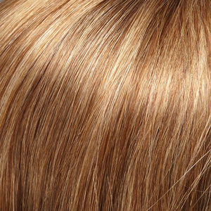 Remy Hair Extensions - Color LIGHT BROWN W 20% HONEY BLONDE HI-LITES (10H24B)
