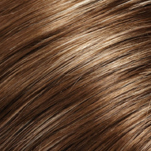 Hair Pieces Women - Color LIGHT BROWN WITH 20% ASH BLONDE HI-LITES (10H16)
