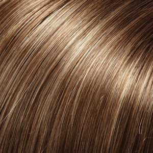 Jon Renau Wigs | LIGHT BROWN W 33% ASH BLONDE HI-LITES (10RH16)
