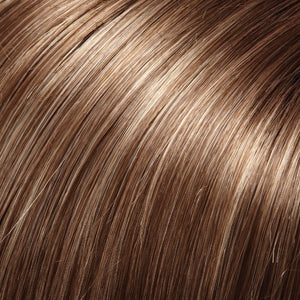 Jon Renau Wigs | 10RH16 ALMONDINE | Light Brown with 33% Light Natural Blonde Highlights