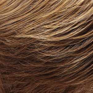 Jon Renau Wigs | 10/26TT | Light Brown and Medium Red-Gold Blonde Blend with Light Brown Nape