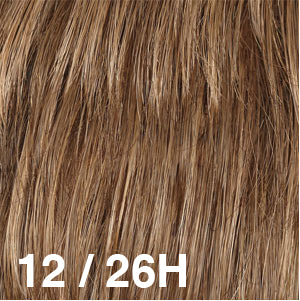 Dream Wigs USA | 12/26H Light Brown (12) highlighted with Golden Blonde (26)