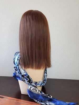 "Freedom Topper by PUSH | Remy European Human Hair | 16"" 6X7 Base 
