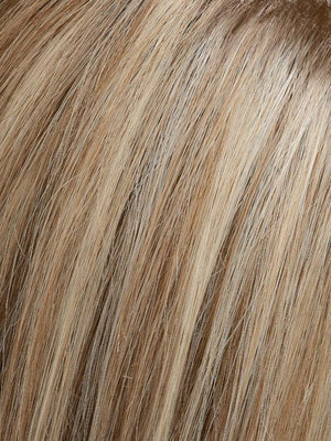 Jon Renau Wigs | 12FS12 MALIBU BLONDE | Lt Gold Brown, Lt Natural Gold Blonde & Pale Natural Gold-Blonde Blend, Shaded w/ Lt Gold Brown
