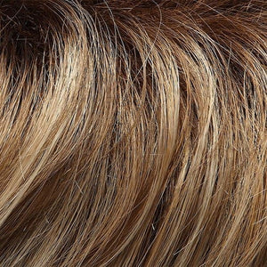 Jon Renau Wigs | 12FS8 | Light Gold Brown, Light Natural Gold Blonde and Pale Natural Gold-Blonde Blend, Shaded with Medium Brown
