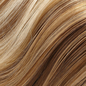 Hair Extensions - Color LIGHT GOLD BROWN, HONEY BLONDE & PLATINUM BLONDE BLEND (12F)