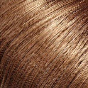 Clip in Bangs - Color GOLDEN BROWN & MEDIUM BROWN RED BLEND W MED BROWN RED TIPS (12/30BT)