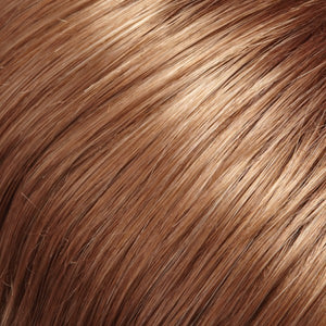 Jon Renau Wigs | 12/30BT ROOTBEER FLOAT | Light Gold Brown and Medium Red-Gold Blend with Medium Red-Gold Tips