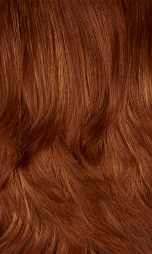 130H | Copper red with dark strawberry blonde highlights