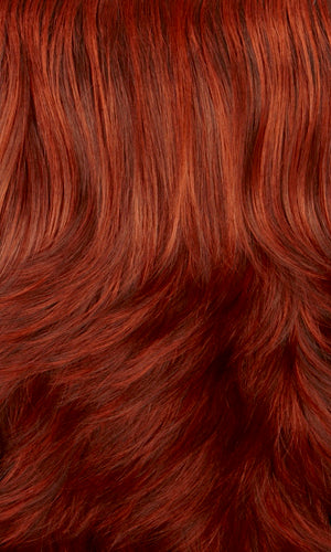 Henry Margu Wigs | 131H | Fire red with auburn highlights