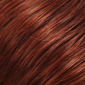 Jon Renau Wigs - Color PLUM RED & DARK BROWN BLEND W PLUM RED TIPS (131T4)