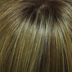 Jon Renau Wigs | LIGHT GOLD BLONDE & MED RED GOLD BLONDE BLEND, SHADED WITH LIGHT BROWN (14/26S10)