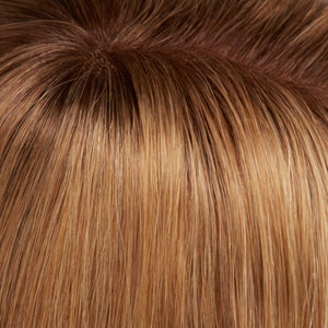 Jon Renau | 14-26S10-Shaded Praline N'Cream-Light Gold Blonde & Medium Red-Gold Blonde Blend-Shaded With Light Brown