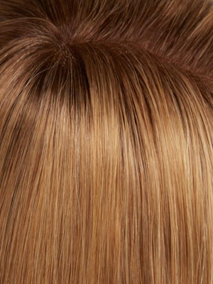 14/26S10 | Light Gold Blonde and Medium Red-Gold Blonde Blend Shaded with Light Brown