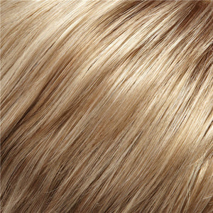 Clip in Bangs - Color MEDIUM ASH BLONDE BLENDED WITH GOLD BLONDE (14/24)