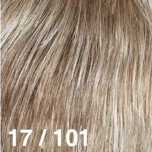 Dream USA Wigs | 17-101  Ash Blonde (17) frosted with Pearl Platinum (101)
