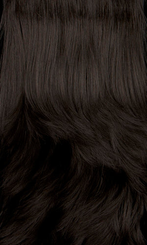 Henry Margu Wigs | 1BH | Off black with medium dark brown highlights