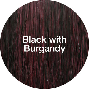 TressAllure Wigs | Black With Burgandy