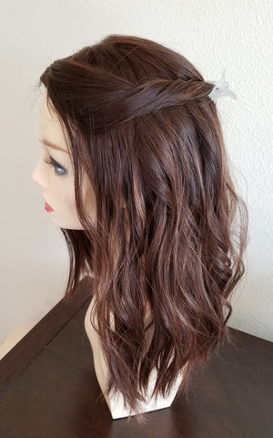 "PUSH Wigs | 18"" Hand Tied Lace Top Wig"