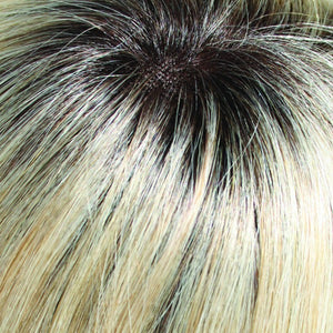 Jon Renau Wigs | LIGHT ASH BLONDE & LIGHT NATURAL BLONDE BLEND, SHADED WITH MED BROWN (22/16S8)