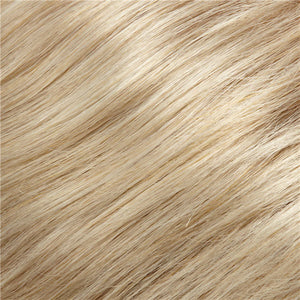 Clip in Bangs - Color CHAMPAGNE BLONDE & WARM PLATINUM BLONDE BLEND (22MB)
