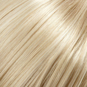 Jon Renau Wigs - Color CHAMPAGNE BLONDE W 33% HI-LITE OF WARM PLATINUM BLONDE (22RH613)