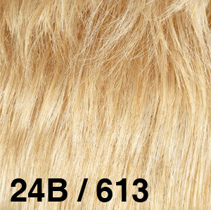 Dream USA Wigs | 24B/613  Bright Golden Blonde (24B) frosted with Bleach Blonde (613)