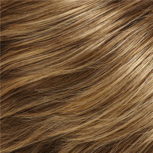 Jon Renau Wigs - Color DARK ASH BROWN & HONEY BLONDE BLEND W HONEY BLONDE TIPS (24BT18)
