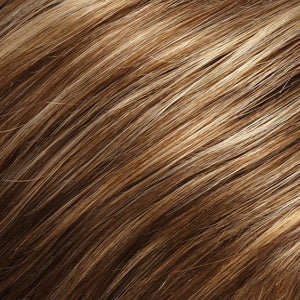 Jon Renau Wigs - Color DARK ASH BLONDE W HONEY BLONDE FROSTED AT TOP (24BT18F)