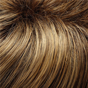 easiHair - Color DARK ASH BLONDE, HONEY BLONDE BLEND, SHADED W MEDIUM BROWN (24BT18S8)