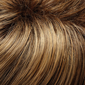 Jon Renau Wigs | 24BT18S8 | Medium Gold Brown and Light Gold Blonde Blend, Shaded with Dark Gold Brown