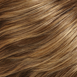 Remy Hair Extensions - Color DARK ASH BROWN & HONEY BLONDE BLEND W HONEY BLONDE TIPS (24BT18)