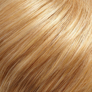 Coco Mono Top Wig by Jon Renau HONEY BLONDE & STRAWBERRY GOLD BLONDE BLEND (24B_27C)