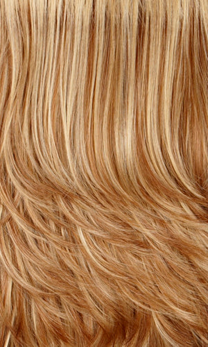 Henry Margu Wigs | 27/26H | Gold blonde with glazed strawberry blonde highlights