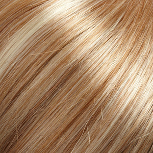 Jon Renau Wigs - Color STRAWBERRY BLONDE W 33% HI-LITE OF WARM PLATINUM BLONDE (27RH613)