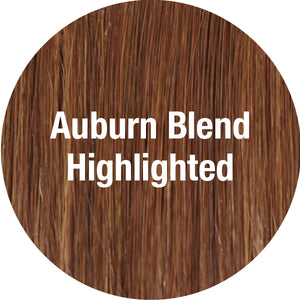 TressAllure Wigs | Auburn Blend Highlighted