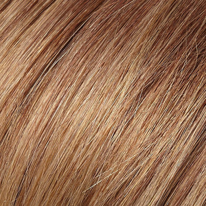 Remy Hair Extensions - Color AMBER RED WITH CARAMEL BLONDE TIPS (31T26)