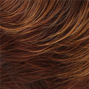 Allure Wig by Jon Renau RED-GOLD BLONDE TIPS, DK/MED RED NAPE(32BF)