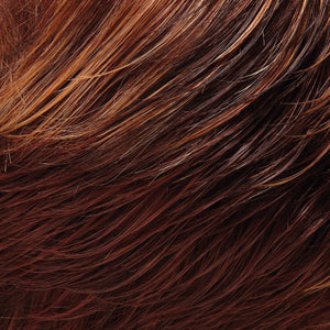 Jon Renau Wigs | 32F CHERRY CRÈME | Medium Red and Medium Red-Gold Blonde Blend with Medium Red Nape