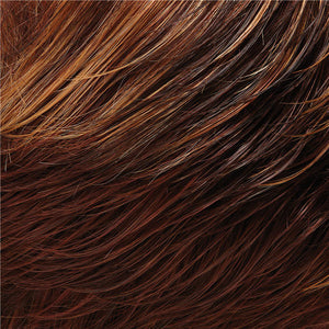 Allure Large Wig by Jon Renau MEDIUM RED & DARK STRAWBERRY BLONDE BLEND W MED RED NAPE (32F)