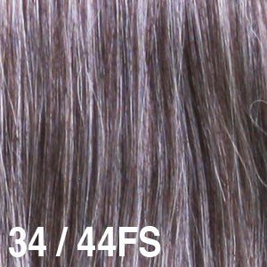 Dream USA Wigs | 34-44FS Dark Brown with 25% Grey (34) frosted with Brown with 50% Grey (44)