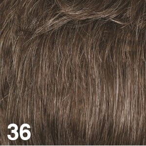 Dream USA Wigs | 36  Medium Brown with 15% Grey