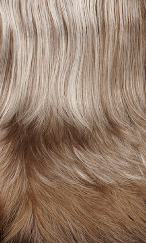 Henry Margu Wigs | 37 | Light brown mixed grey on top graduating to medium brown mixed grey in back